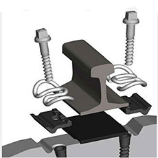 rail fastenering system